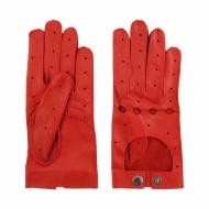 Guantes de piel con dedos para conducir