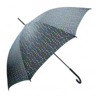 Paraguas largo automático lunares Benetton