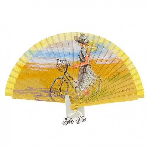https://cache.paulaalonso.es/10813-106028-thickbox/abanico-vintage-amarillo-dama-y-bicicleta.jpg