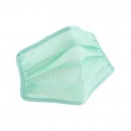 Mascarilla higiénica reutilizable infantil verde