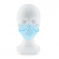 Pack diez mascarillas quirúrgicas infantiles azules