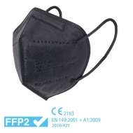 Mascarilla FFP2 negra - Homologada CE