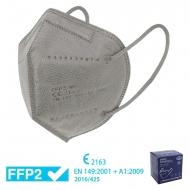 25 mascarillas FFP2 grises - Homologadas CE