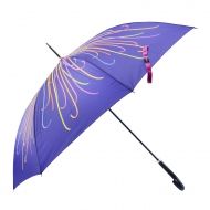 Paraguas largo automático rayas Devota y Lomba