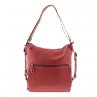 Bolso y mochila roja S6804 Oasis Caminatta