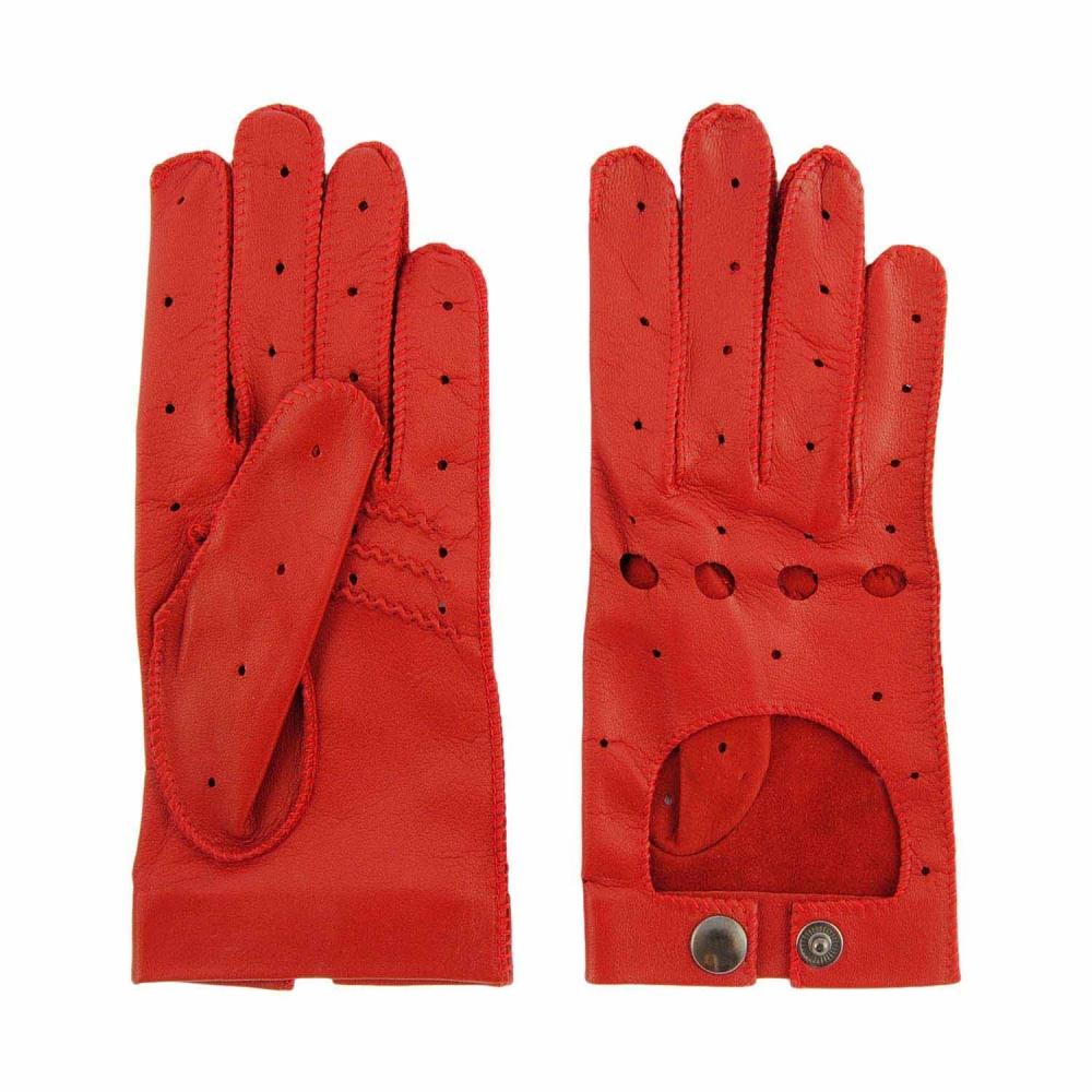 a8f29158152 Guantes de piel con dedos para conducir - Paula Alonso - Tienda online
