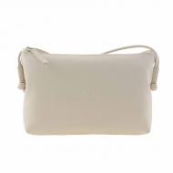 Bolso rectangular piel con bandolera