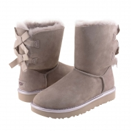 Botas piel 1019034 Bailey Bow Metallic UGG